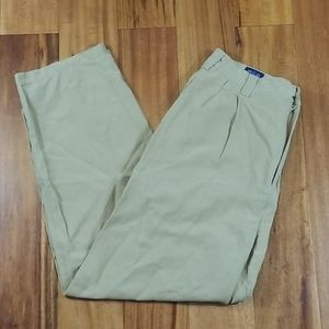 BCS by North 44 Silk Linen Pants 32x30